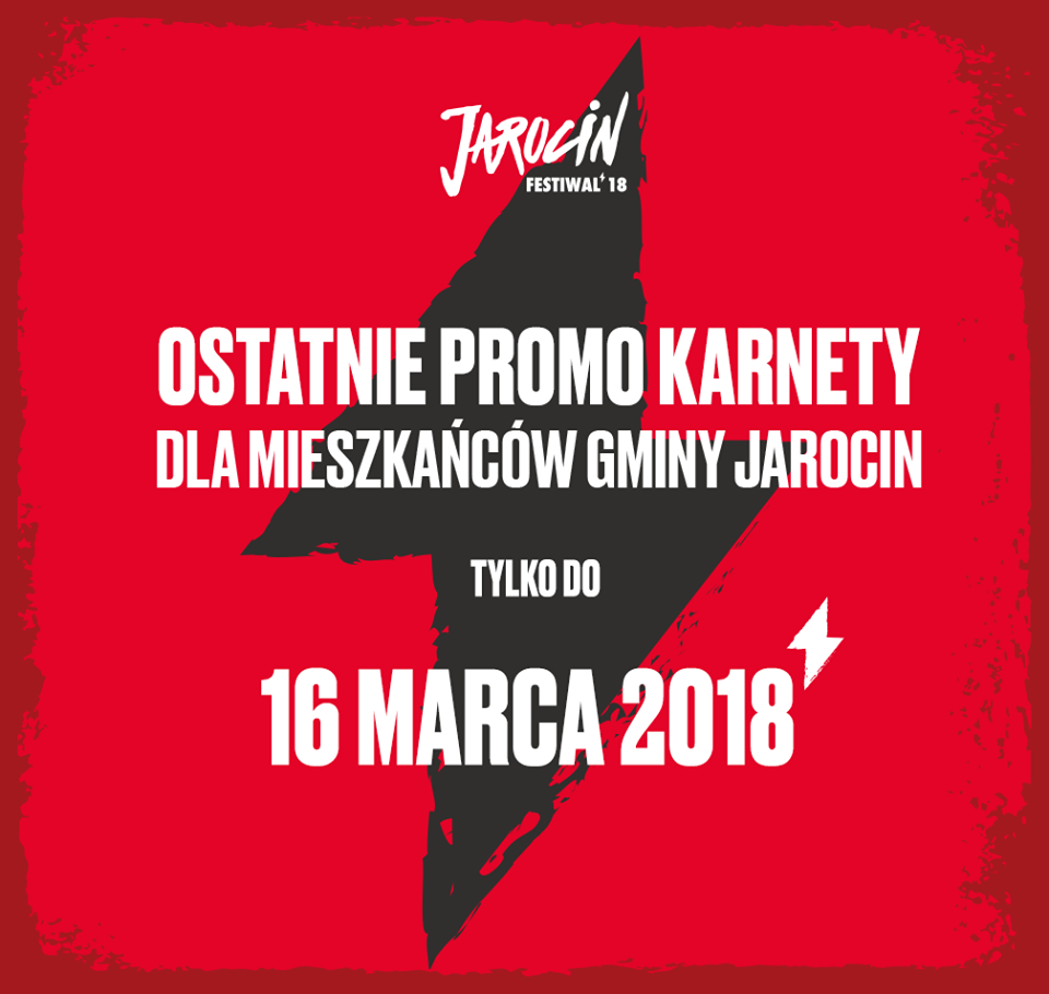 Przypominamy! Został tydzień na zakup karnetu JF2018 dla mieszkańca gminy Jarocin.