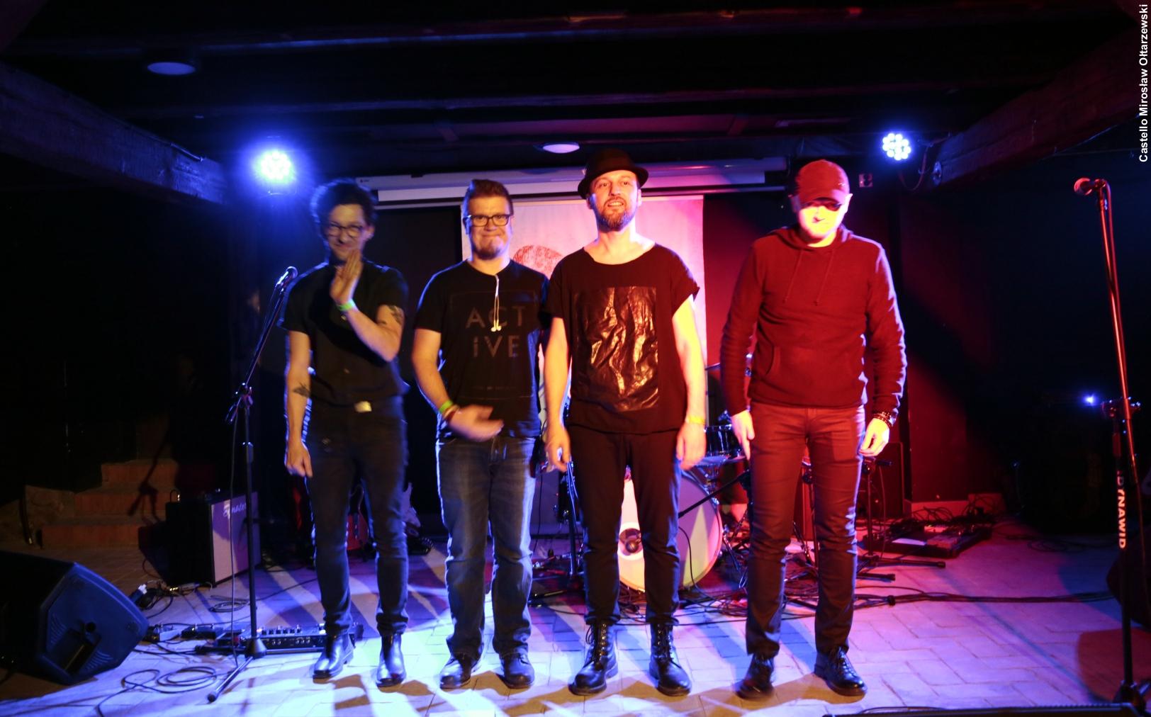 Zespół Fonetyka – fotorelacja z koncertu i spotkania w Muzycznym Bębnie