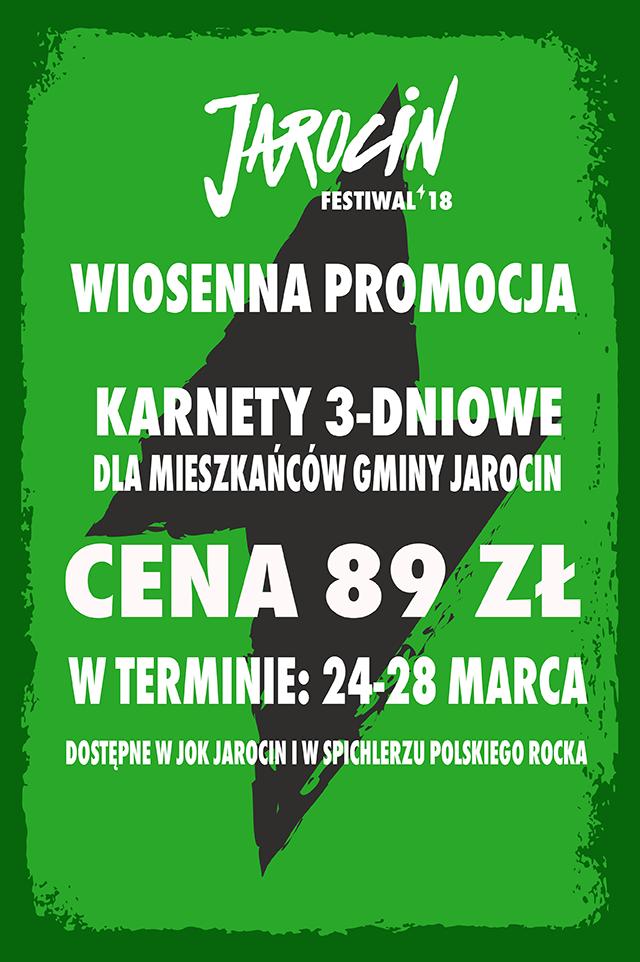 Wiosenna promocja karnetów dla mieszkańców Gminy Jarocin!
