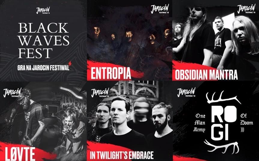 Black Waves Fest gra na Jarocin Festiwal 2018!
