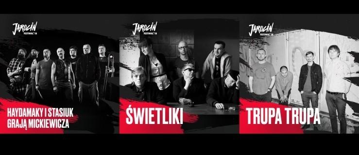 Haydamaky i Stasiuk, Trupa Trupa oraz ŚWIETLIKI dołączają do składu Jarocin Festiwal 2018!