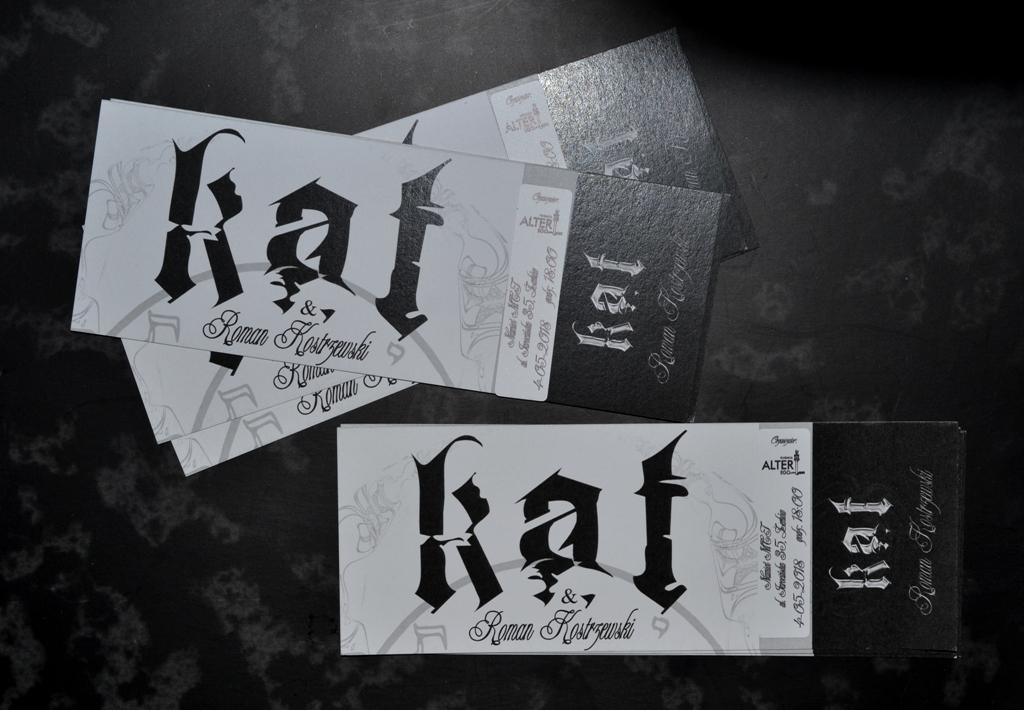 Bilety na Kat & Roman Kostrzewski już w sprzedaży!