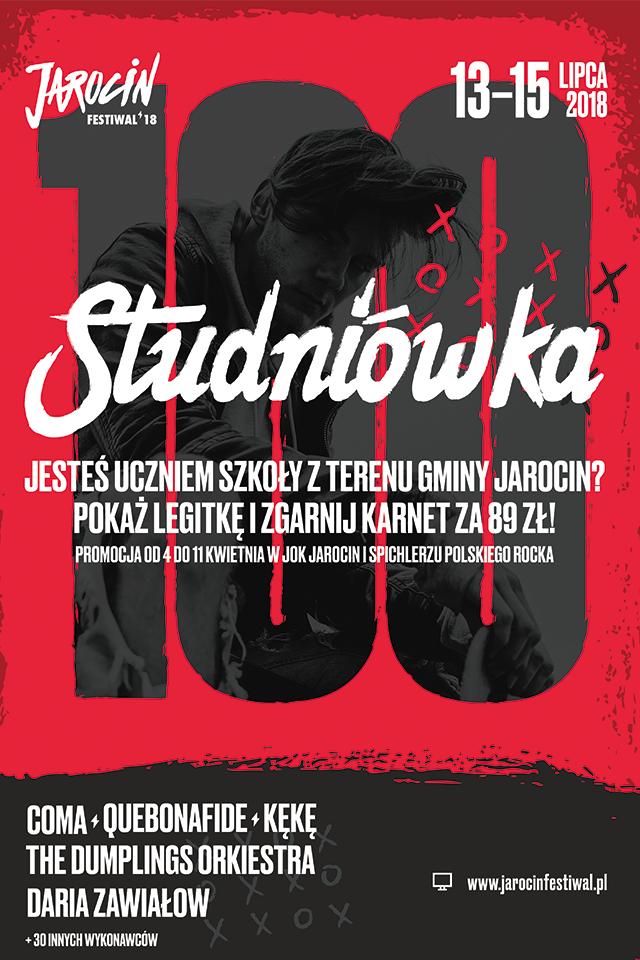 Świętuj z nami studniówkę Jarocin Festiwal! (vol.2)