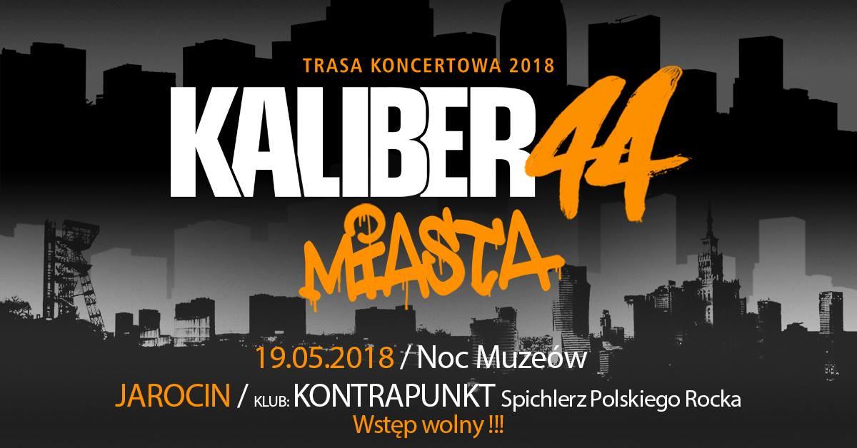 Kaliber 44 zagra w Spichlerzu podczas Nocy Muzeów 2018!