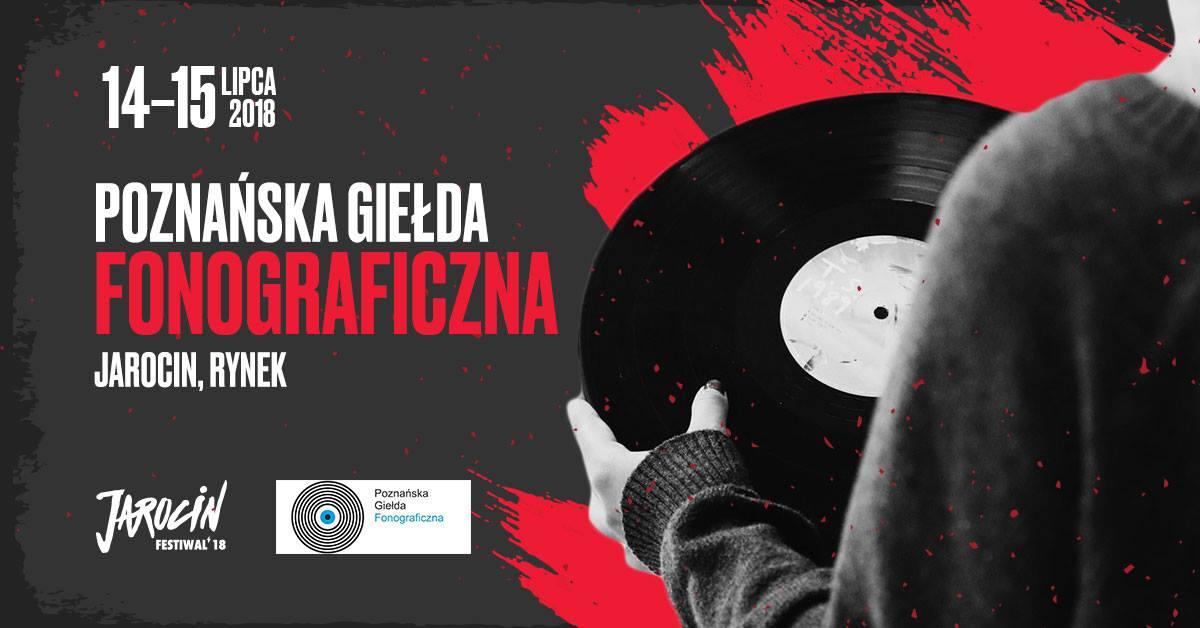 Poznańska Giełda Fonograficzna podczas Jarocin Festiwal 2018!