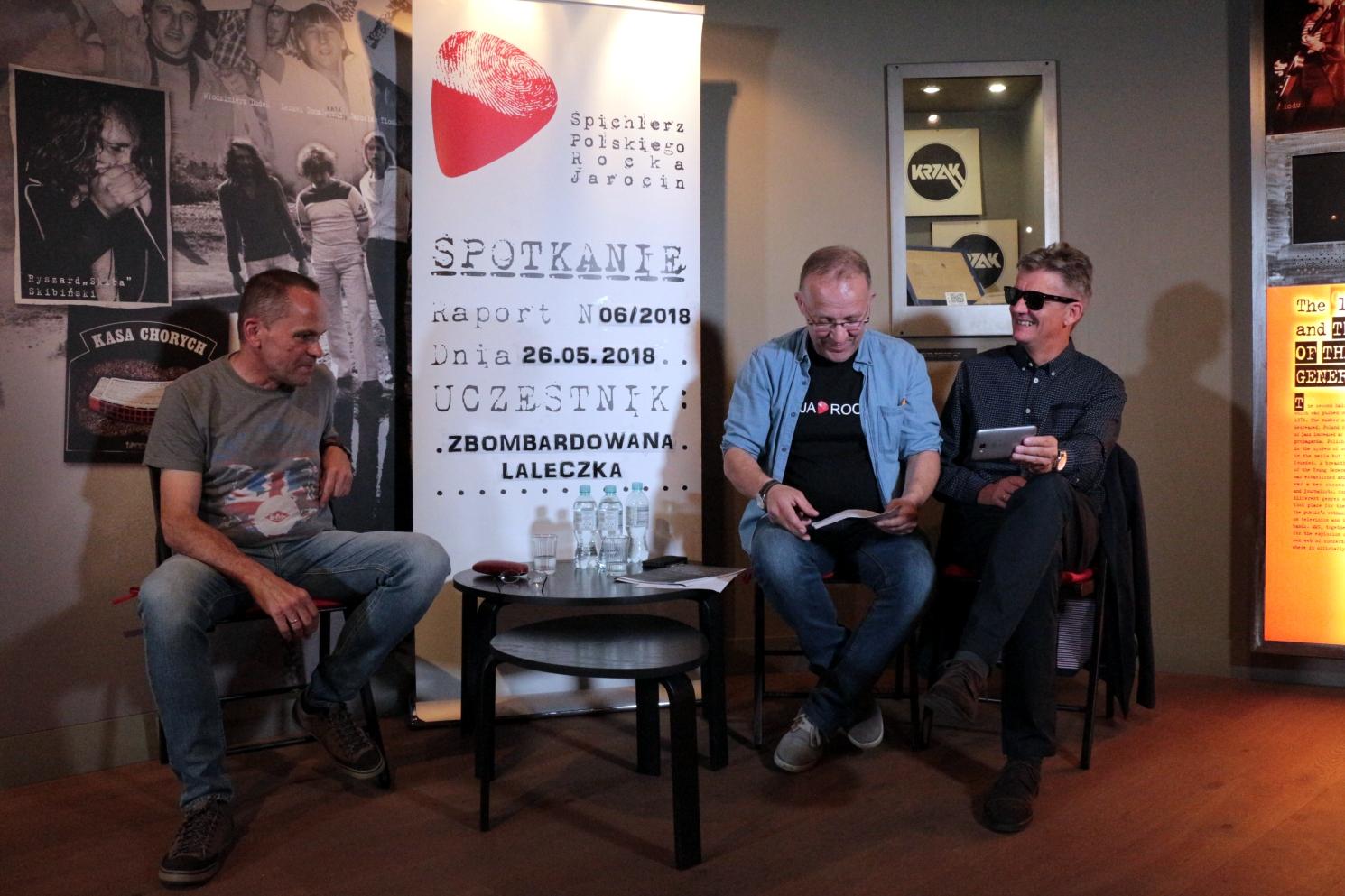 Spotkanie z zespołem Zbombardowana Laleczka 2