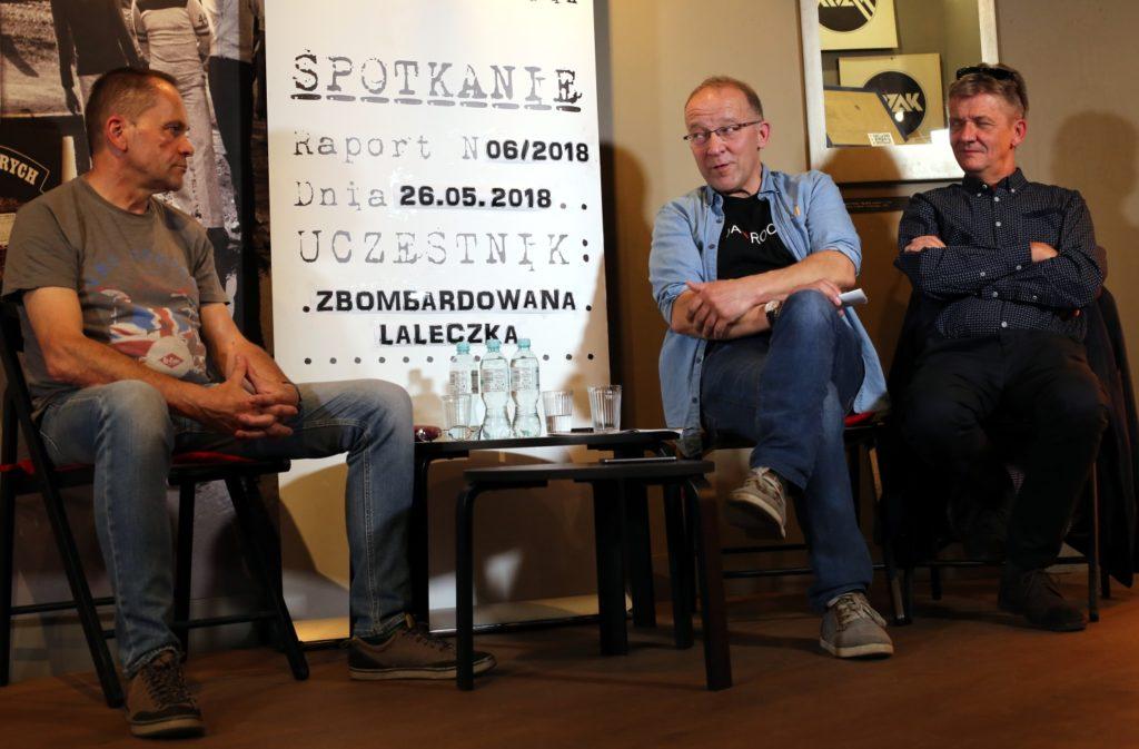 Spotkanie z zespołem Zbombardowana Laleczka 8