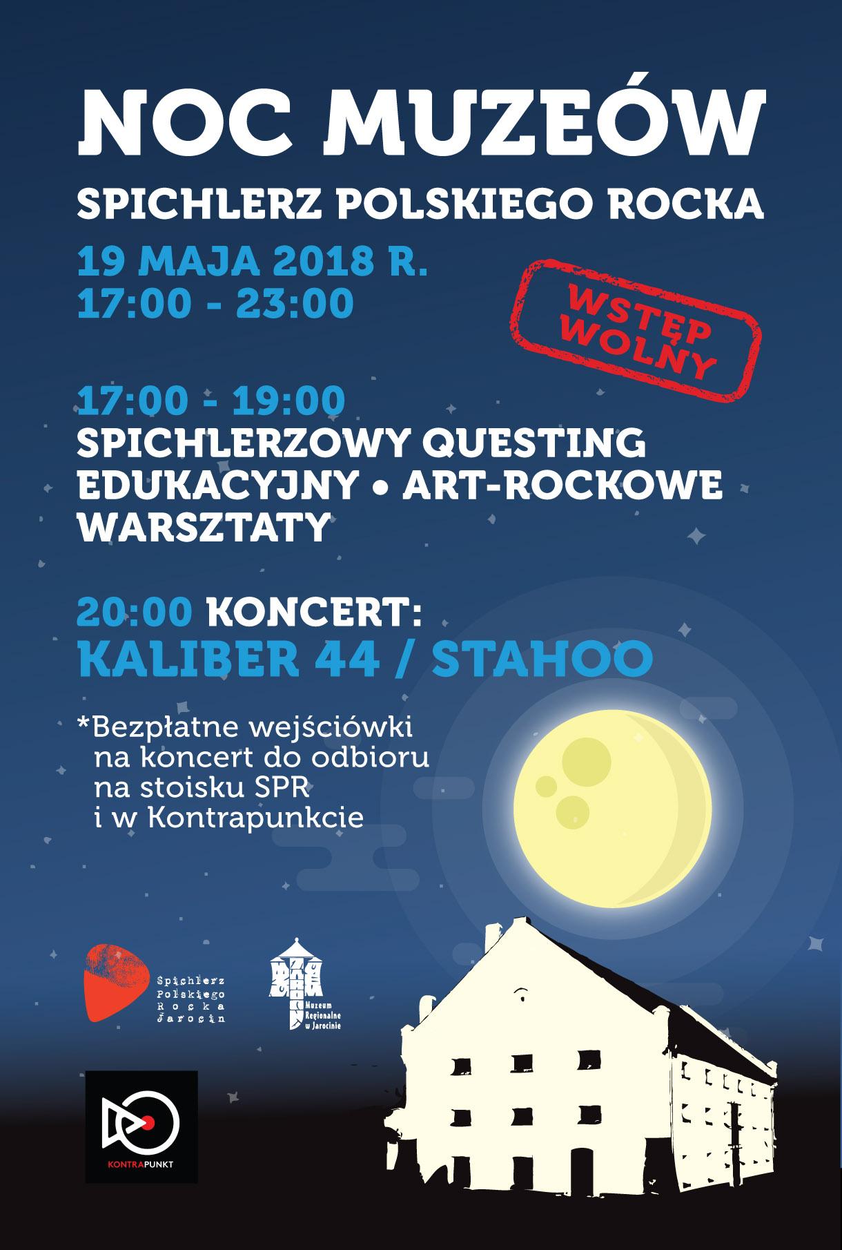 Noc Muzeów w Spichlerzu !!! (19.05.2018 r.)