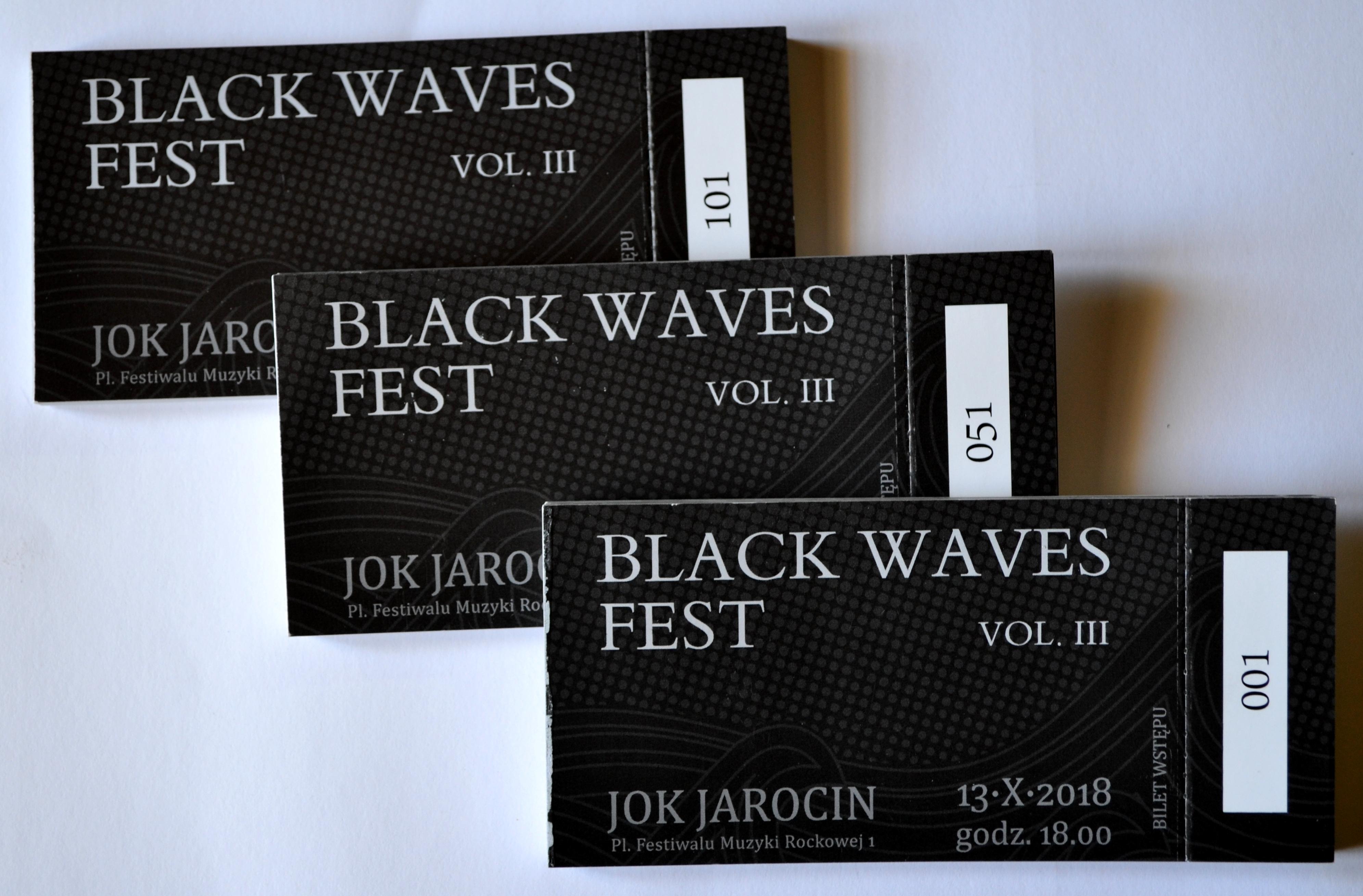 Bilety na Black Waves Fest vol. 3
