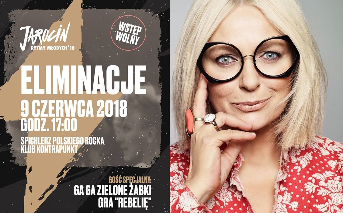 Spotkanie z K.Nosowską i koncert eliminacyjny JRM 2018 – już dziś (9.06.2018 r.)