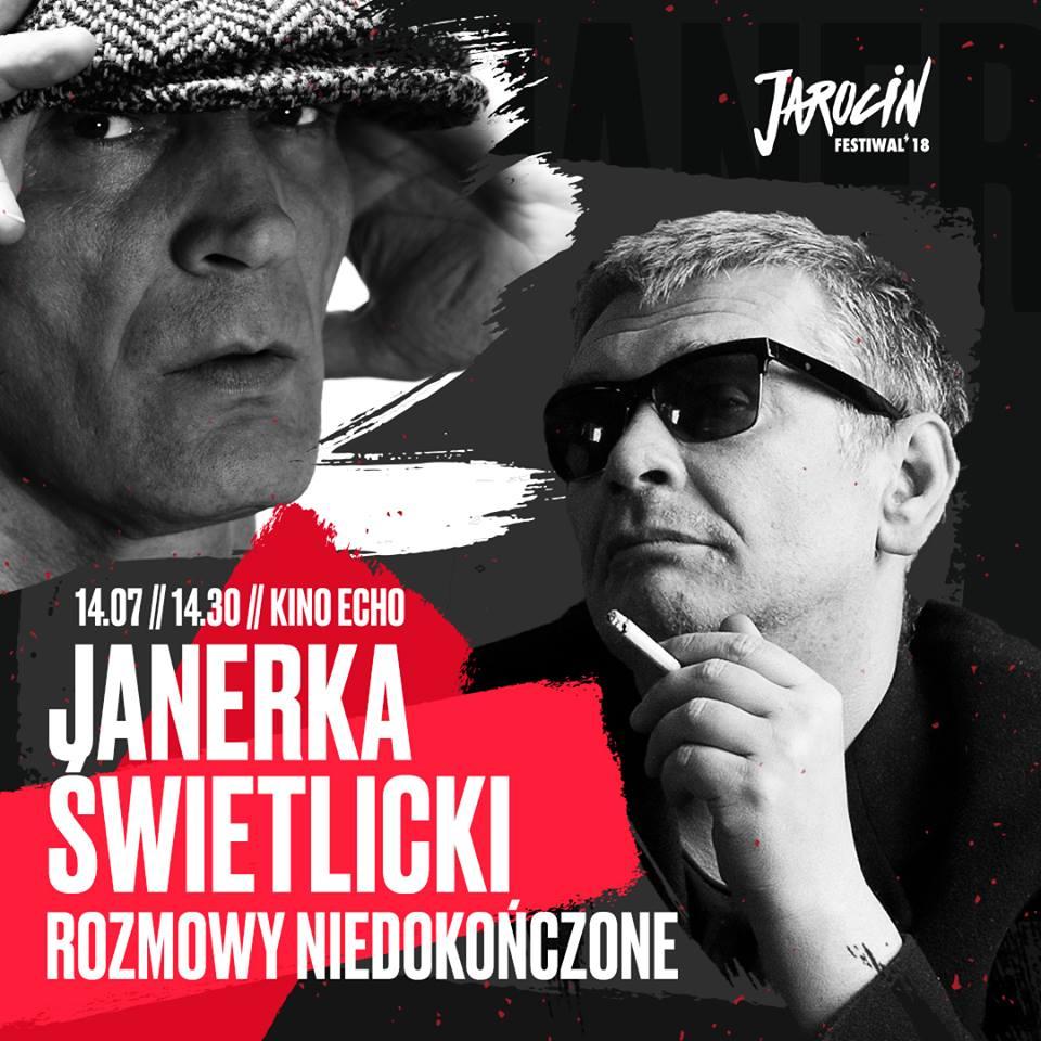 Lech Janerka i Marcin Świetlicki – rozmowy niedokończone… Jarocin Festiwal 2018!