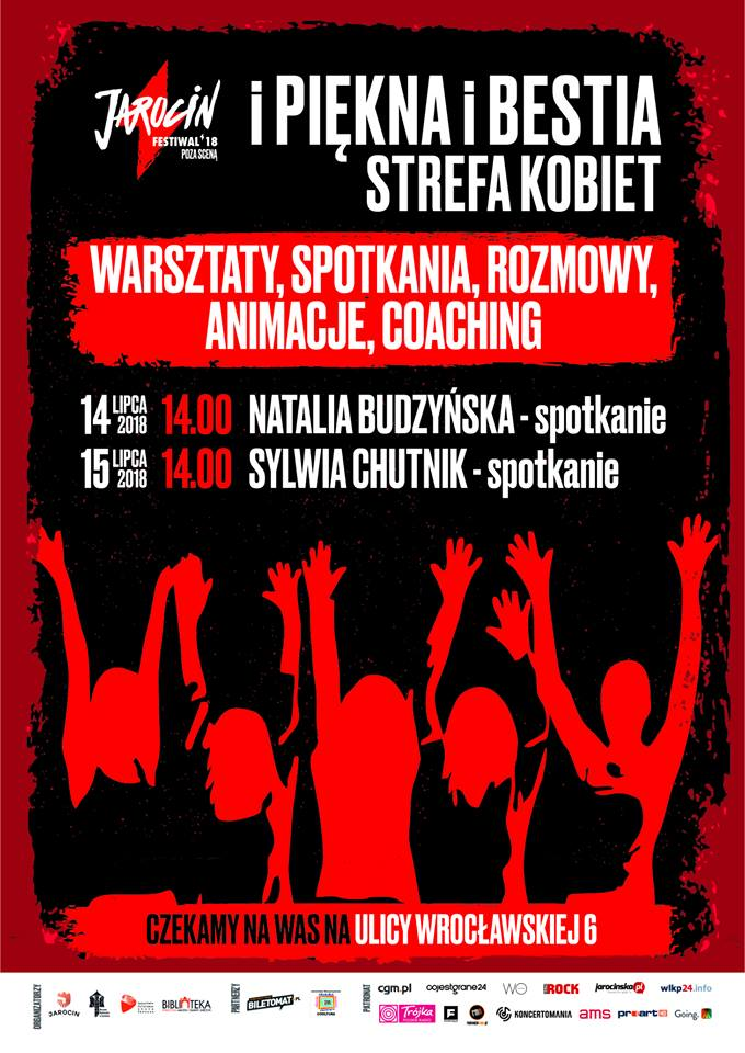 Jarocin Festiwal 2018: iPięknaiBestia Strefa Kobiet!