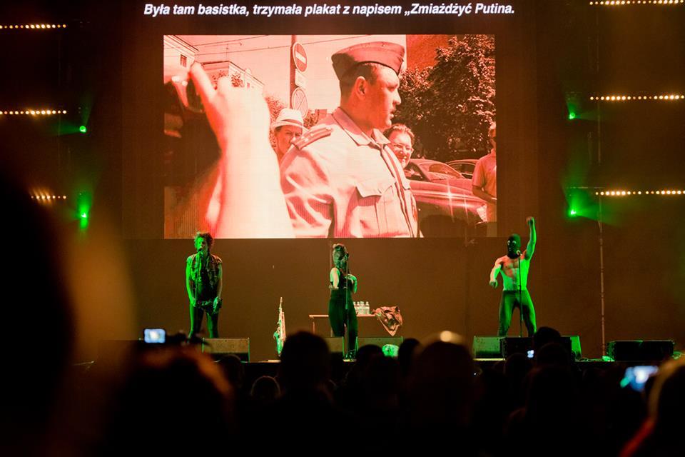 Jarocin Festiwal 2018: PussyRiot walczą o wolność na festiwalowej scenie!