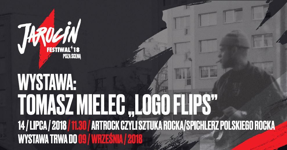 """Jarocin Festiwal 2018: Wernisaż wystawy """"Logo flip series"""" (14.07.2018 r./godz.11:30/SPR)"""