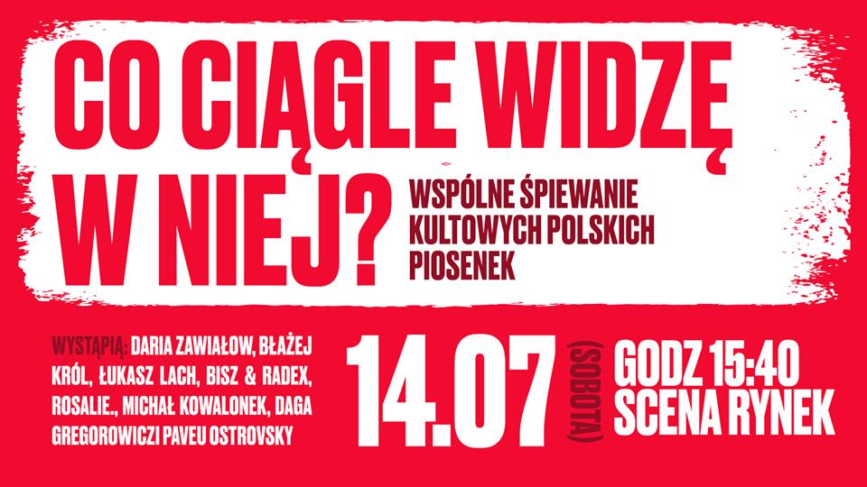 "Jarocin Festiwal 2018: Koncert ""Co ciągle widzę w niej"" już dziś! (14.07.2018 r.)"