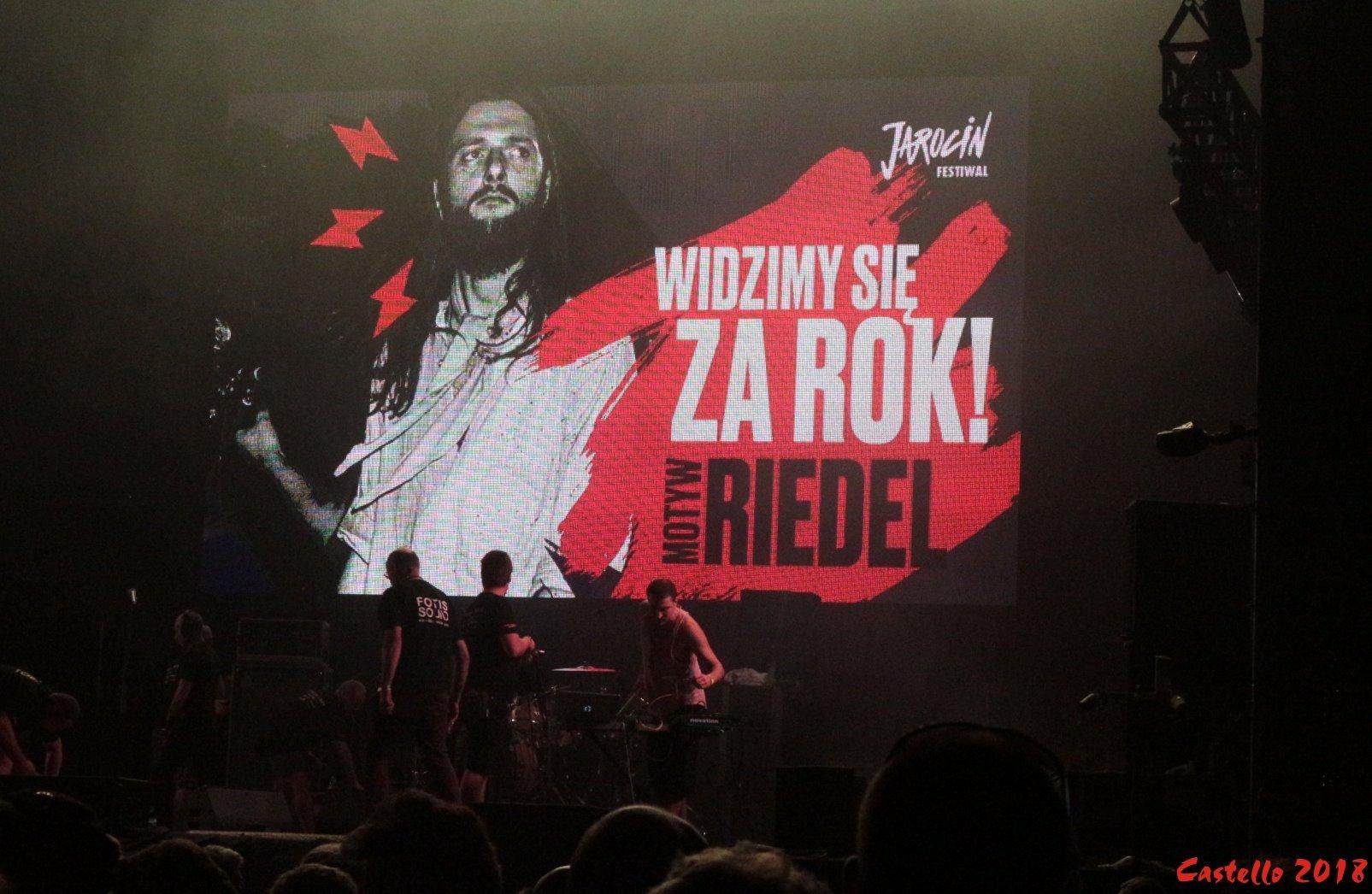 Do zobaczenia za rok podczas Jarocin Festiwal 2019!