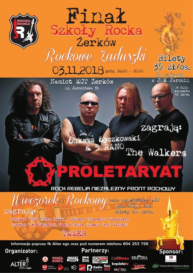Rockowe Zaduszki już za miesiąc (03.11.2018 r.) w Żerkowie.