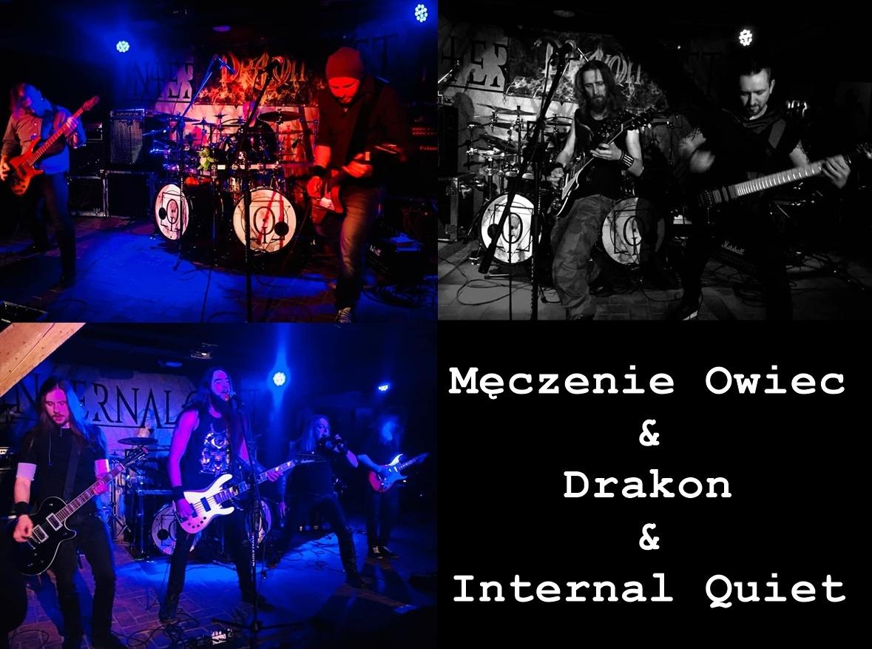 Internal Quiet + Drakon & Męczenie Owiec – fotorelacja z koncertu