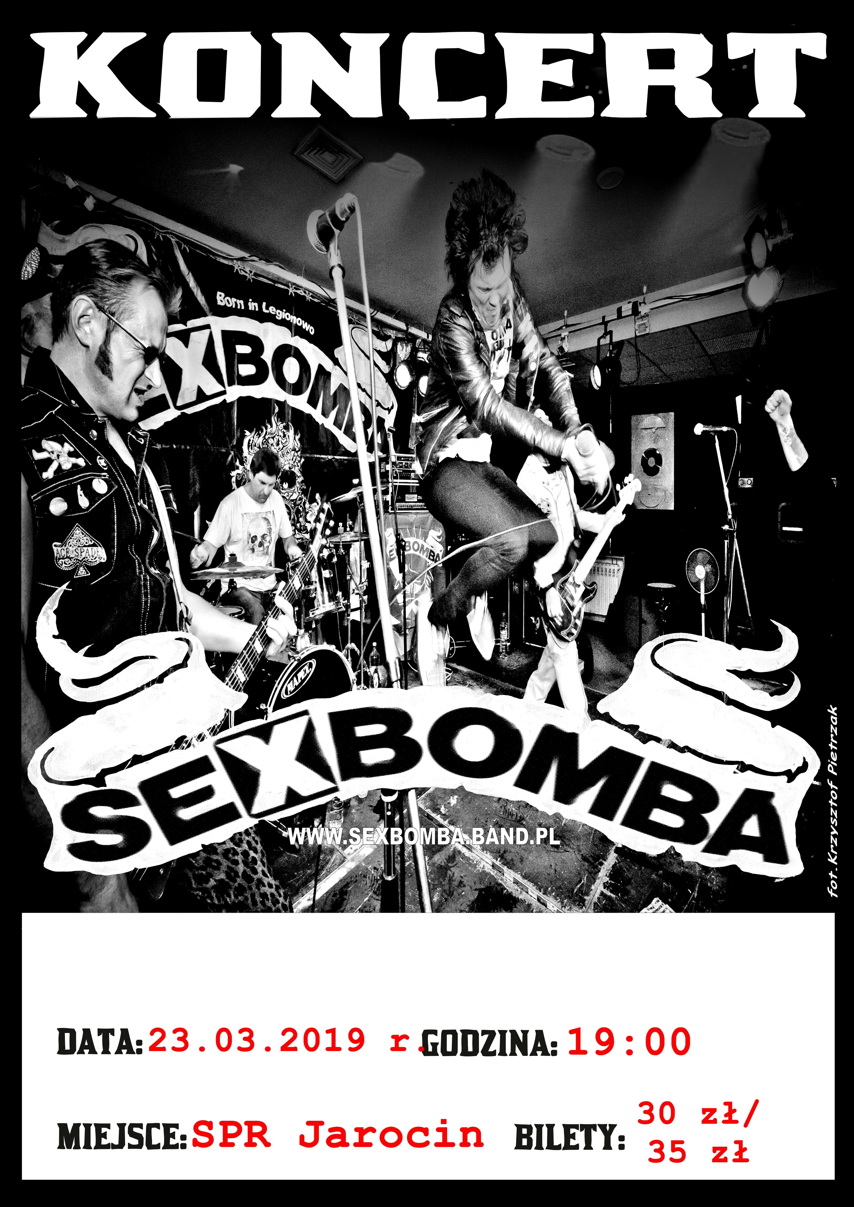 Przypominamy! Już za tydzień w sobotę Sexbomba i Zimna Wojna na naszej scenie!