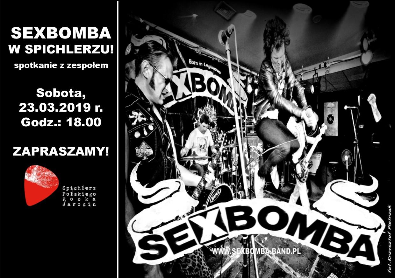 Spotkanie z zespołem SEXBOMBA!