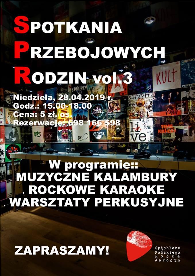Przypominamy! Spotkania Przebojowych Rodzin już w niedzielę (28.04.2019 r.)!