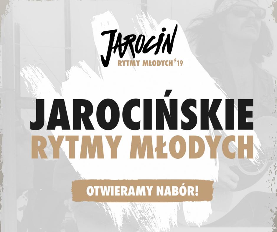 Jarocińskie Rytmy Młodych 2019 – ogłaszamy nabór!
