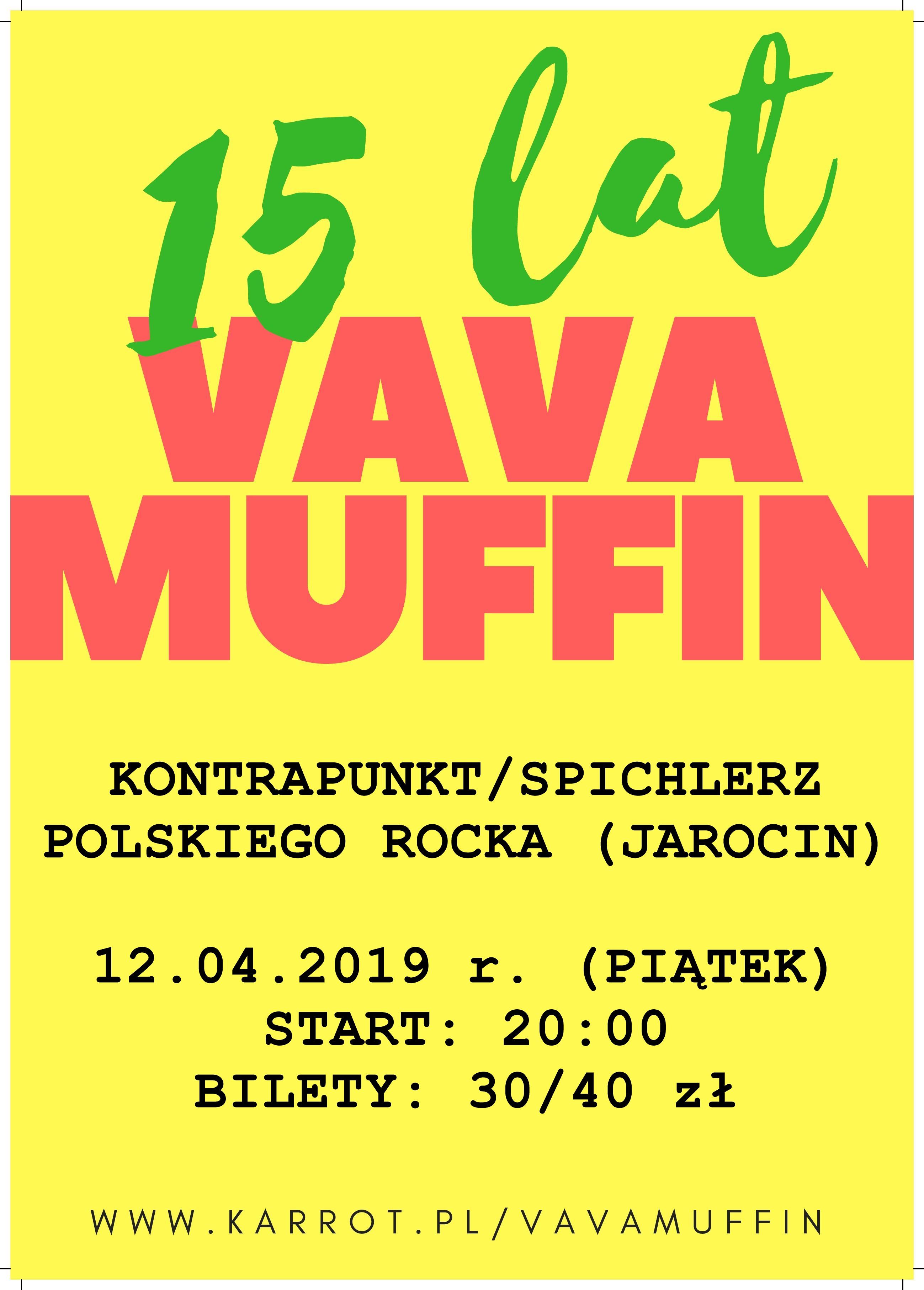 Przypominamy! W najbliższy piątek Vavamuffin w SPR!