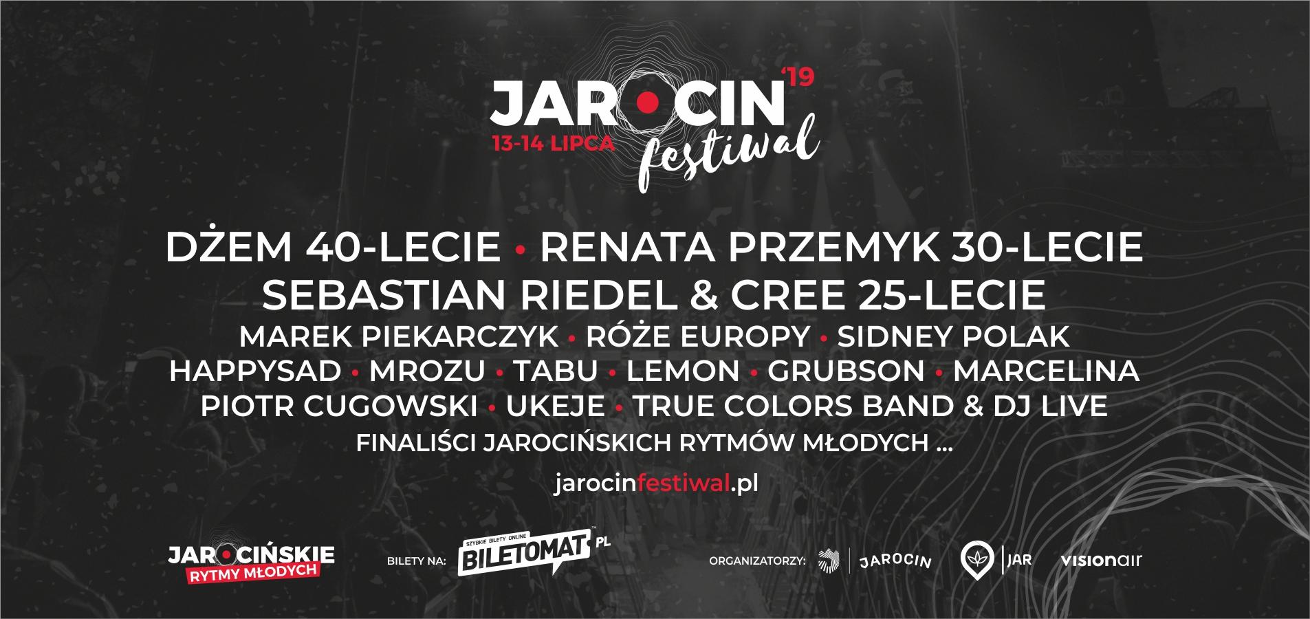 Wiemy kto zagra podczas Jarocin Festiwal 2019