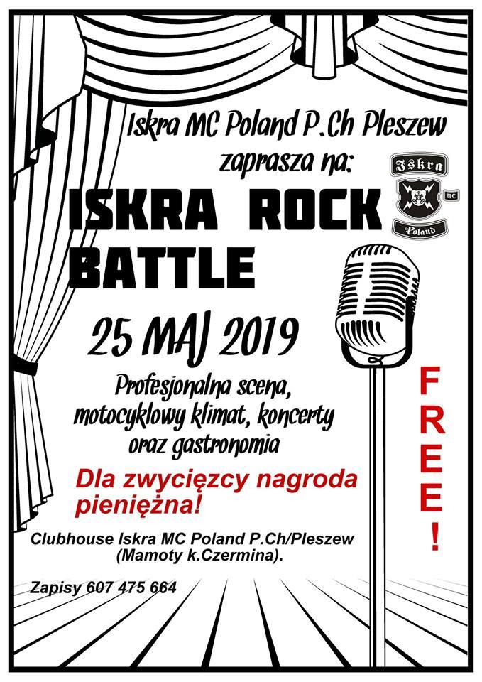 Iskra Rock Battle już za tydzień! Zapraszamy! Polecamy! :)