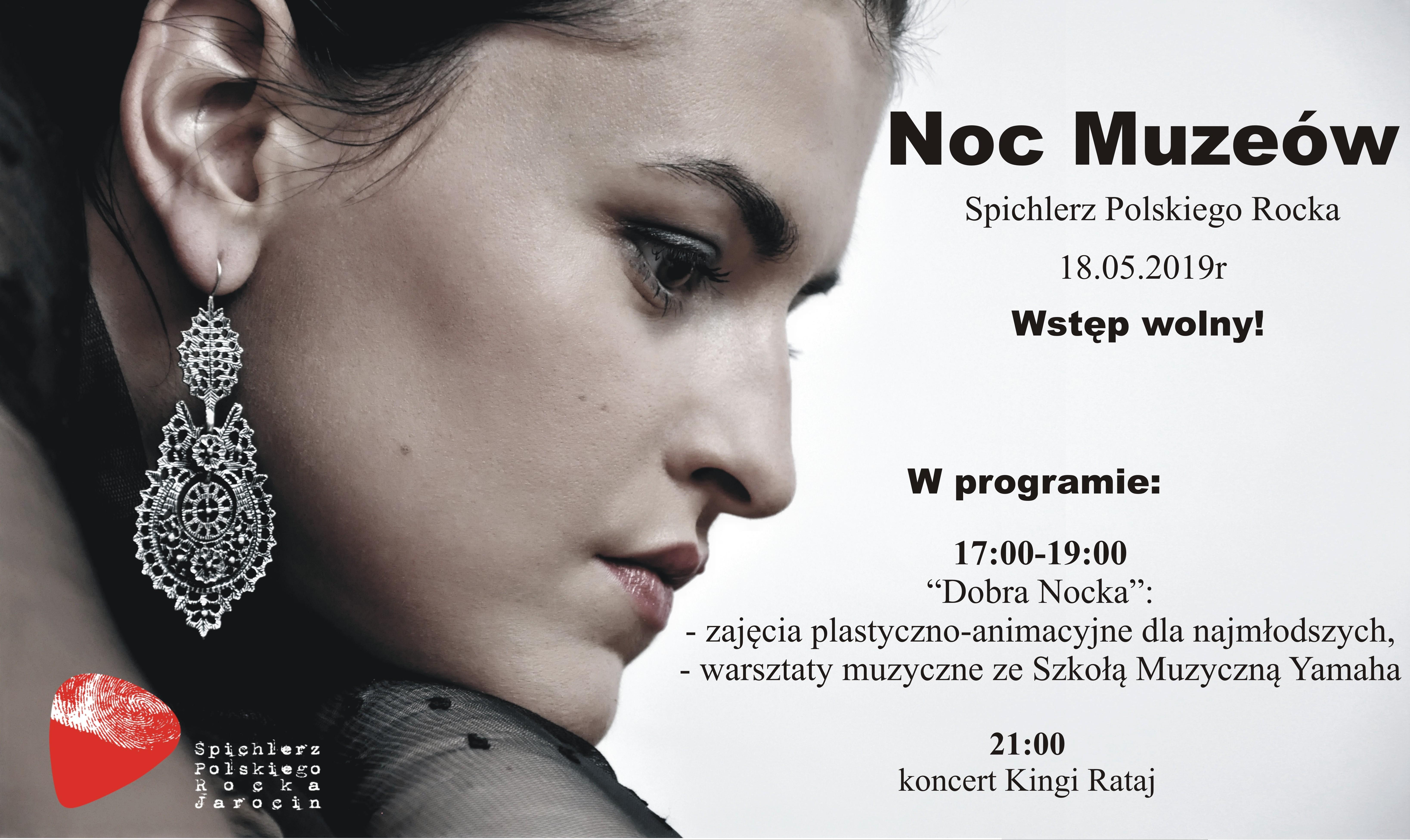 Plakat noc muzeów 2019