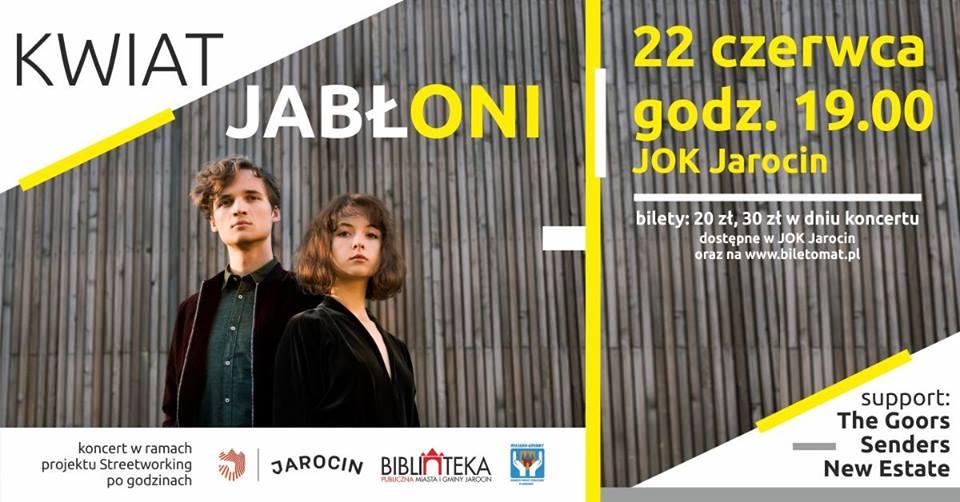 Kwiat Jabłoni zagra za tydzień (22.06.2019 r.) w JOK Jarocin. Polecamy!