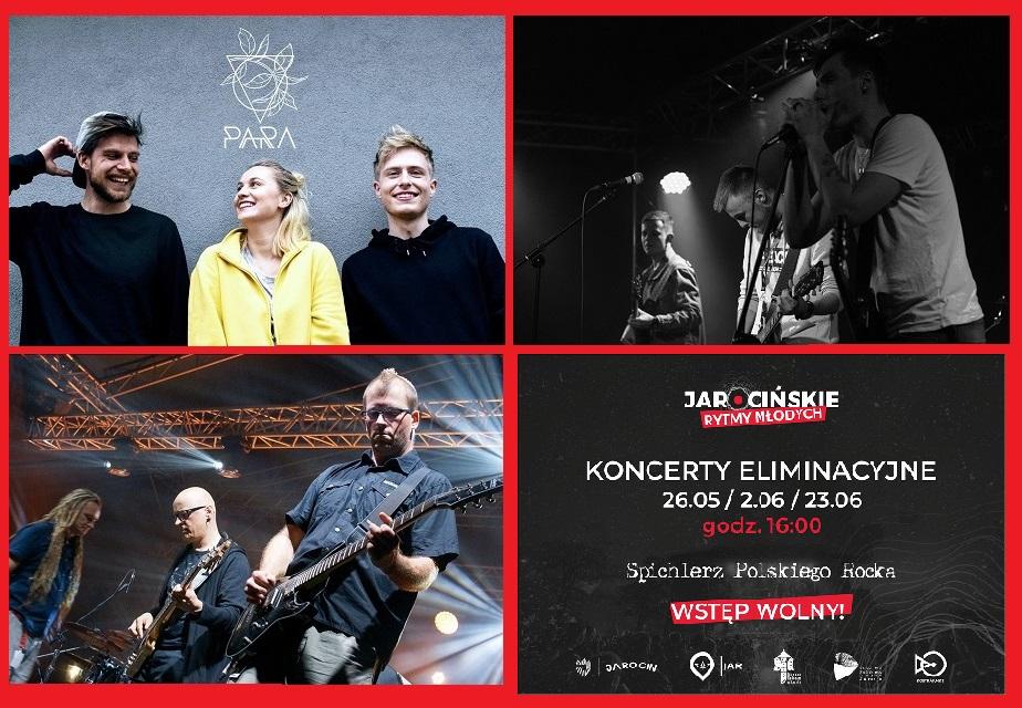 Trzeci koncert eliminacyjny Jarocińskich Rytmów Młodych – 23 czerwca 2019 r.