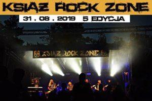 Książ Rock Zone Festiwal 2019 już za miesiąc :)
