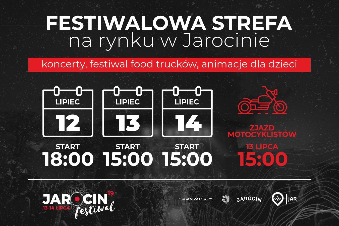 """""""Festiwalowy rynek"""" (12.07-14.07.2019 r.). Polecamy!"""