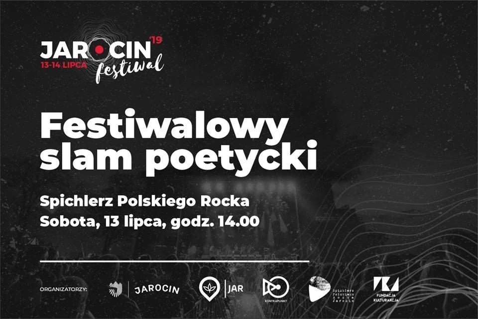 Festiwalowy slam poetycki – 13.07.2019 r.