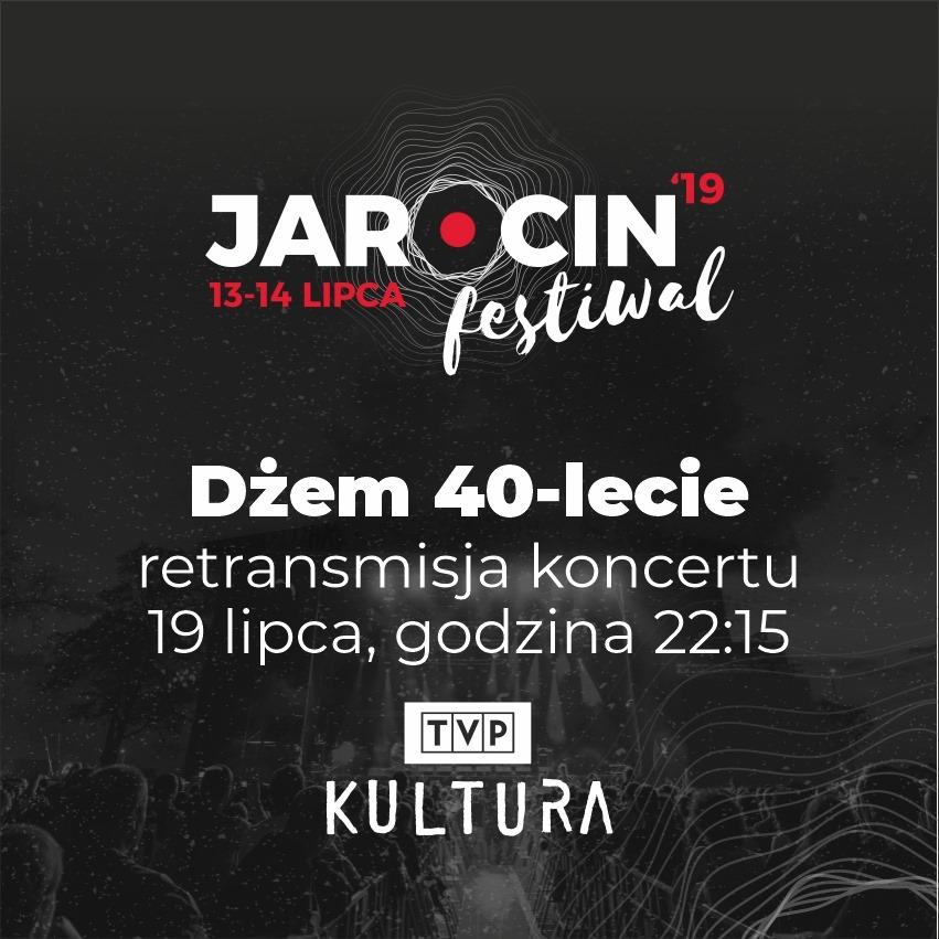 Retransmisja koncertu JF2019: 40-lecie Dżemu w TVP Kultura
