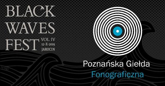 Poznańska Giełda Fonograficzna na Black Waves Fest 4.