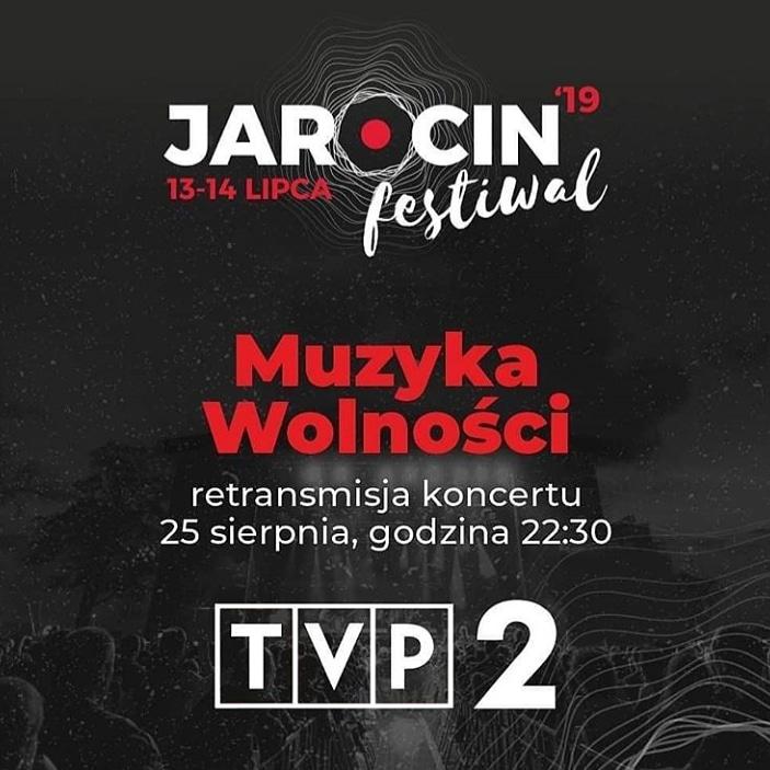 """Koncert JF 2019 """"Muzyka Wolności"""" w TVP2 (25.08.2019 r.)"""