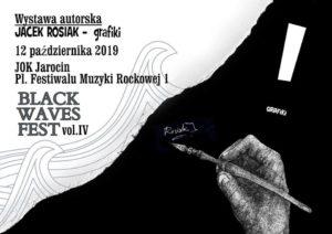 Wystawa autorska grafiki Jacka Rosiaka podczas BWF 4.