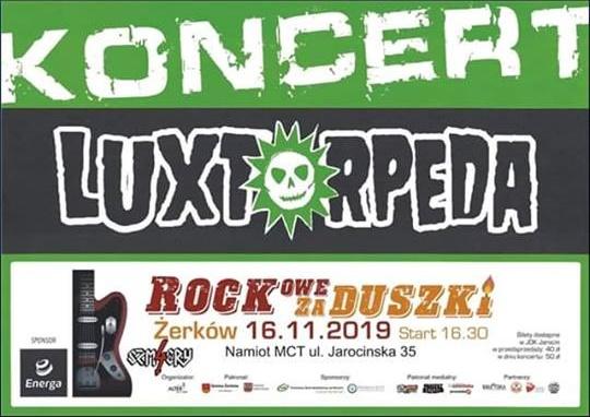 Rockowe Zaduszki w Żerkowie już za miesiąc. Polecamy! Zapraszamy!