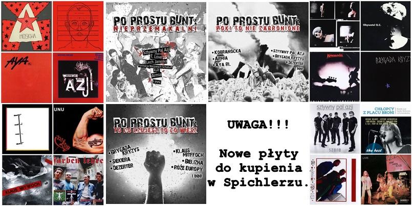 Nowe płyty do kupienia w Spichlerzu :)