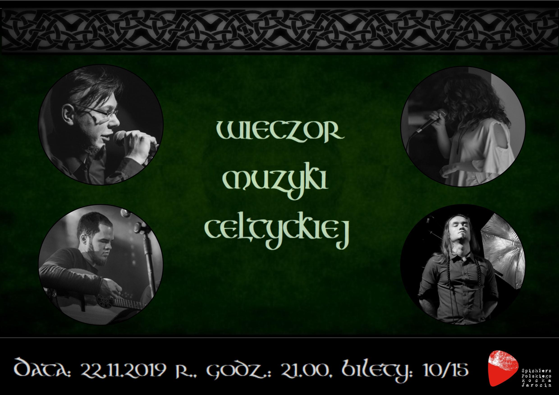 Koncert muzyki celtyckiej za 2 tygodnie w Spichlerzu. Zapraszamy!!!