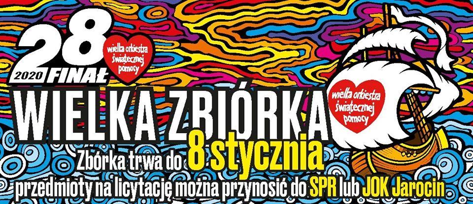 Zbiórka przedmiotów na licytację WOŚP 2020.