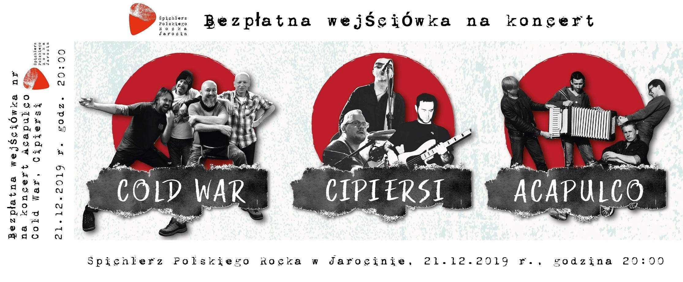 Bezpłatne wejściówki na koncert w dniu 21.12.2019 r. już dostępne.