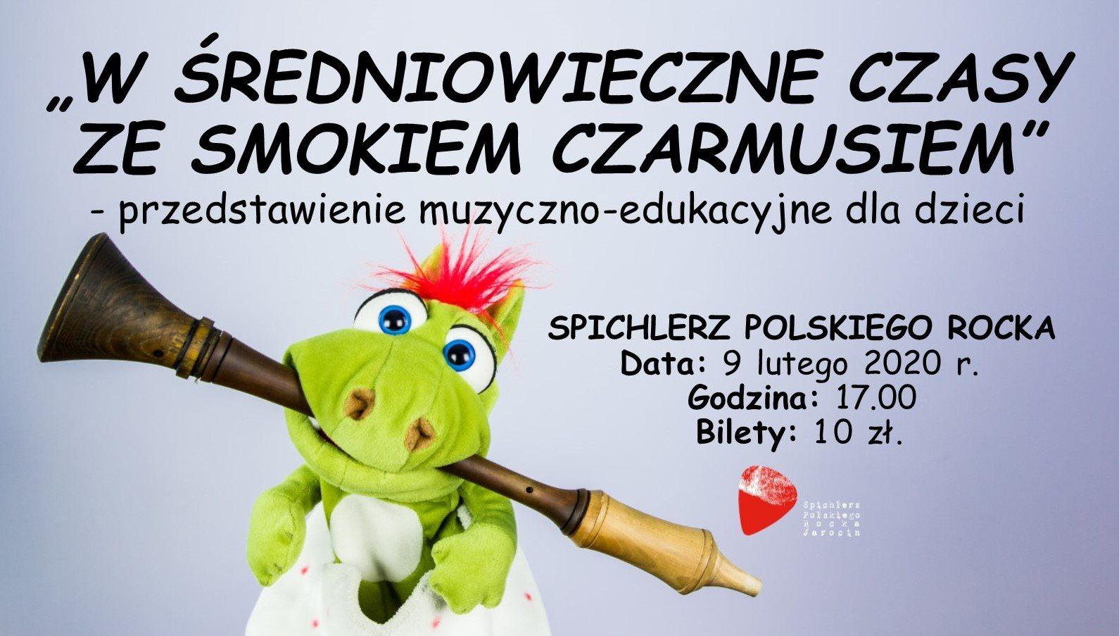 Przedstawienie dla dzieci na zakończenie ferii :-) ZAPRASZAMY!!!