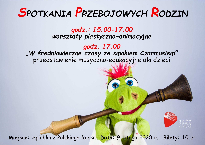 Spotkania Przebojowych Rodzin 2020 – odsłona 1 za 2 tygodnie (09.02.2020 r.). ZAPRASZAMY!!!