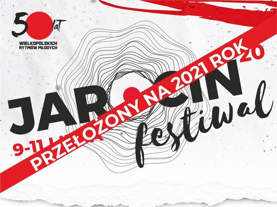 Jarocin Festiwal 2020 zostaje przełożony na rok 2021… :(