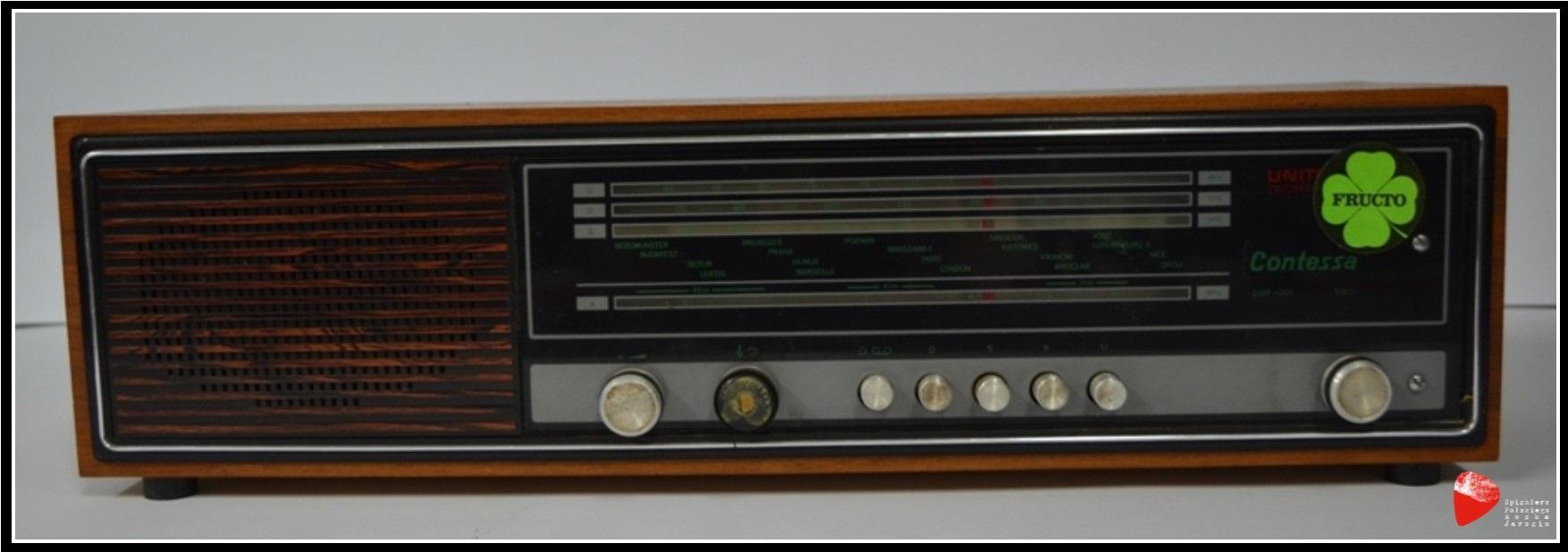 Radioodbiornik Contessa DMP 201.