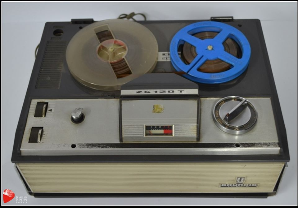 Magnetofon szpulowy ZK-120T.