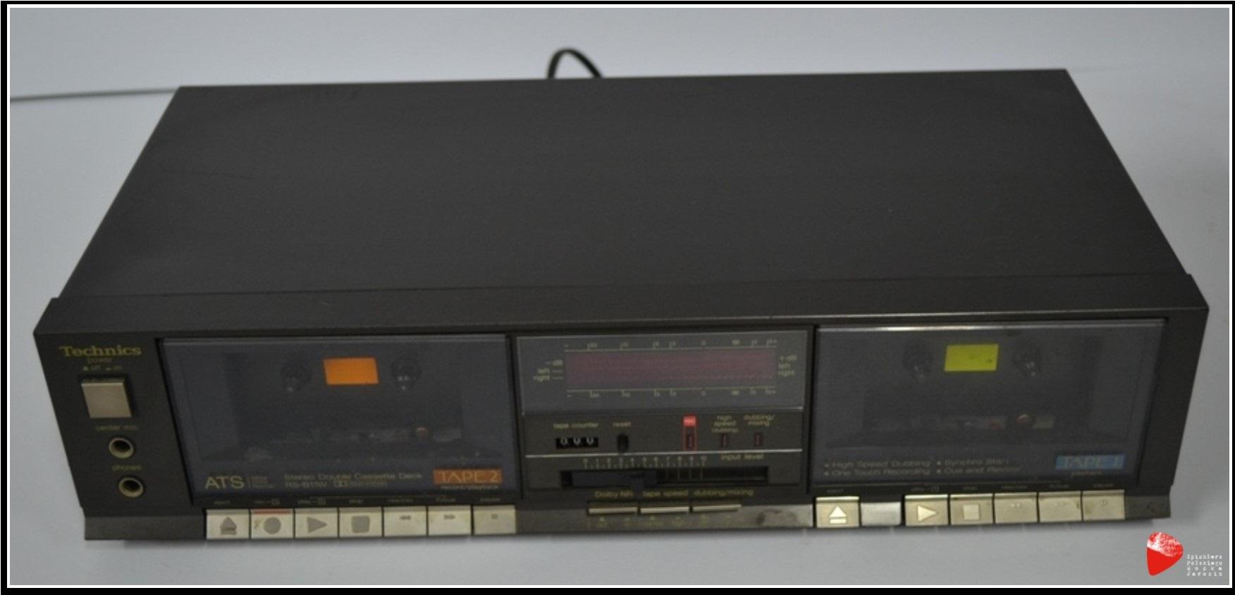 Magnetofon Technics RS-B11W.